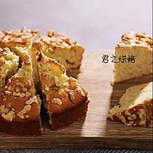 简简单单的香蕉核桃蛋糕(很香很香的咧)