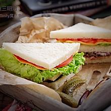 金枪鱼三明治#非常规创意吃鱼法#
