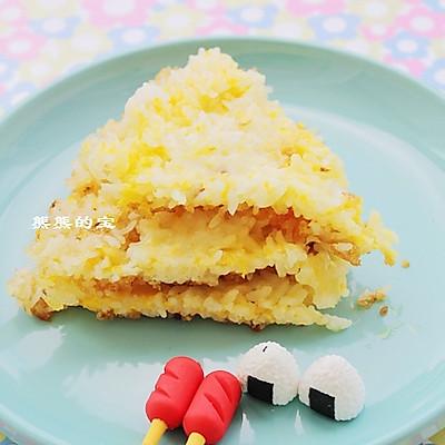 蛋香煎米饼