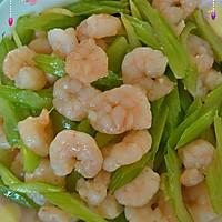 虾仁炒芹菜的做法图解8