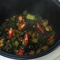 酸菜炖腿肉的做法图解4