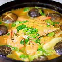 海鲜年糕锅