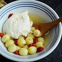 #美食新势力#夏季消暑甜品之鲜莲荷包甜汤的做法图解15
