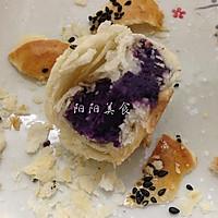黑芝麻紫薯酥----紫色的诱惑的做法图解9