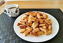 一口脆 黄油面包干(空气炸锅版)的做法