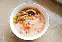 鸭肉萝卜粥的做法