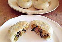 温州小吃-咸菜糯米饼(扁儿)的做法