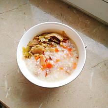 鸭肉萝卜粥