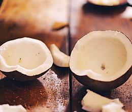 鲜榨椰奶(秋季热饮版)的做法