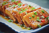#做道懒人菜,轻松享假期#锅塌豆腐的做法