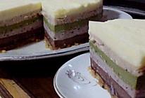 无色素彩虹芝士蛋糕的做法