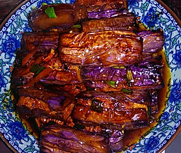 茄子夹肉的做法