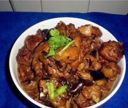 香菇炖鸡腿的做法