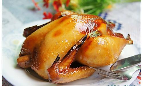 美味不可挡——脆皮烤鸡  的做法
