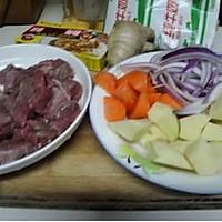咖喱牛肉的做法图解1