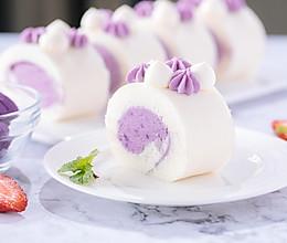 紫薯天使蛋糕卷的做法