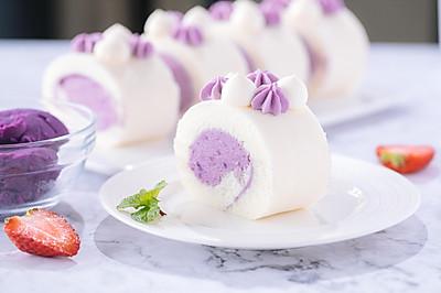 紫薯天使蛋糕卷