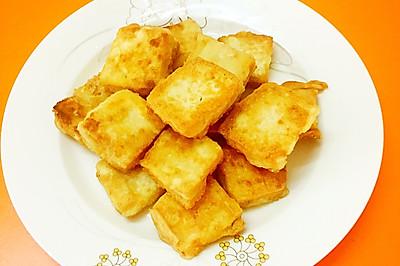 脆皮蘸水豆腐