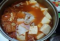 泡菜白肉豆腐汤的做法