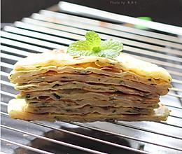 烫面葱油饼的做法