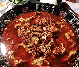 下饭届扛把子『水煮肉片』|浣熊日记的做法