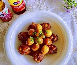 #名厨汁味,圆中秋美味#鹌鹑蛋鸡翅根的做法