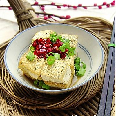 一碗香煎豆腐