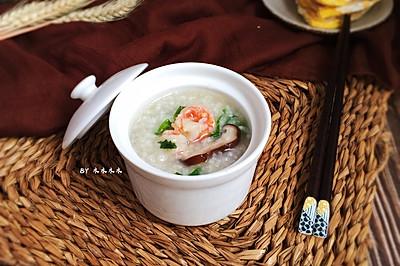 鲜虾瑶柱海鲜粥~快手营养粥