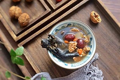 核桃红枣乌鸡汤