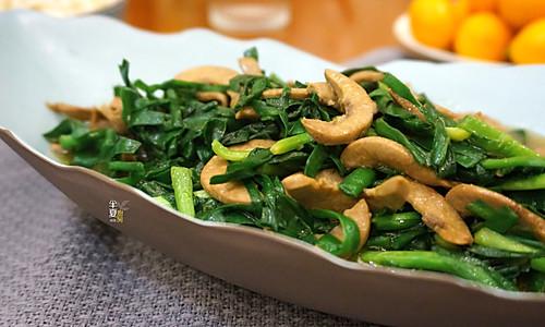 #精品菜谱挑战赛#韭菜炒腰片,这么做完全没异味的做法