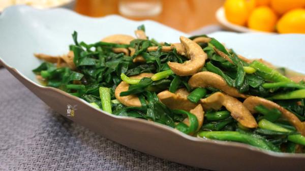 韭菜炒腰片,这么做完全没异味的做法
