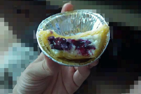 全蛋蛋挞&蓝莓蛋挞的做法