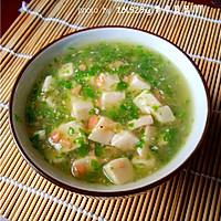 青菜火腿豆腐羹的做法图解11