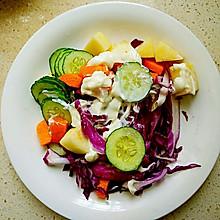 水果鲜蔬沙拉