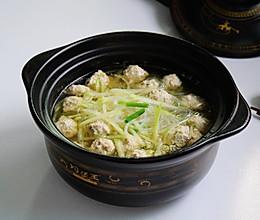 #好吃不上火#青萝卜丸子粉丝汤的做法
