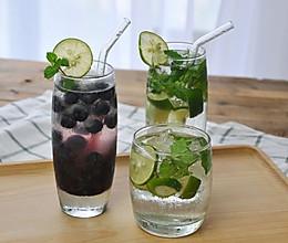 经典Mojito & 蓝莓Mojito 古巴鸡尾酒 视频菜谱的做法