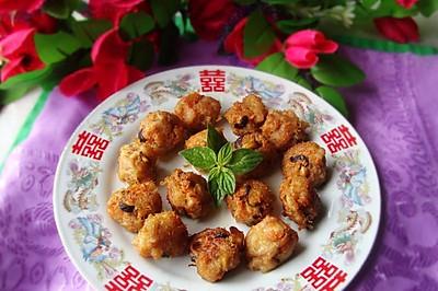 之:炸胡萝卜蟹肉丸#菁选酱油试用#