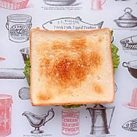 火腿芝士蛋三明治#百吉福食尚达人#的做法图解9