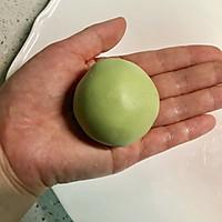 网红青团-咸蛋黄肉松青团的做法图解17