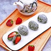 抹茶草莓大福的做法图解8