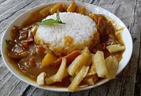 经典咖喱饭#奇妙咖喱,拯救萌娃食欲#的做法
