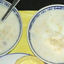 鸡蛋牛奶麦片粥