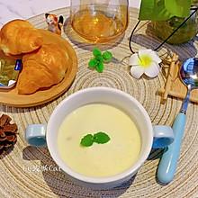 #餐桌上的春日限定#玉米火腿奶油浓汤