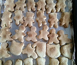 烤饼干的做法