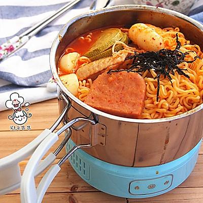 韩式芝士年糕拉面部队锅