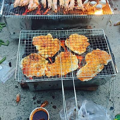 无敌东北地炉秘制烤鸡排