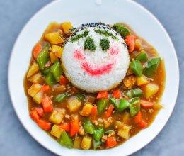 儿童咖喱饭#咖喱萌太奇#的做法