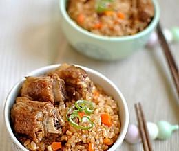 美味懒人饭——排骨焖饭的做法
