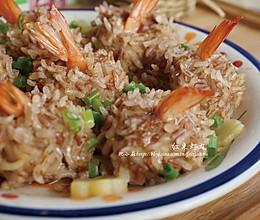 红米虾丸的做法