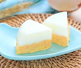 双层蒸蛋糕的做法
